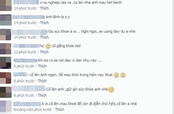 Trịnh Thăng Bình bất ngờ đổ bệnh nặng khiến fan lo lắng