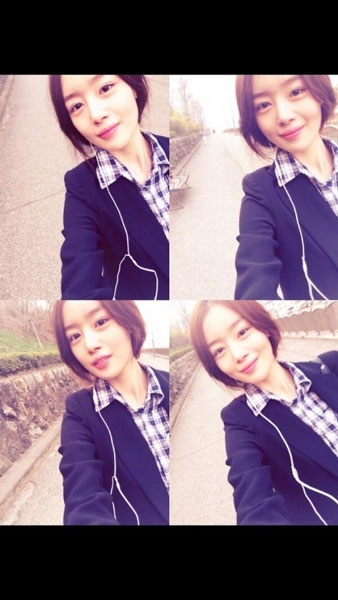 Sunhwa (Secret) khoe hình tự sướng khi cô đang tham gia bộ phimGod's Gift – 14 Days