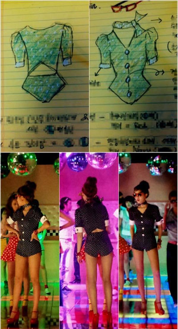 Nữ ca sĩ tự thiết kế trang phục của mình cho MV của nhóm. Mới đây Hyo Min đảm nhiệm vai trò stylist tạo phong cách cho T-ara N4 - một nhóm nhỏ mà cô tham gia.