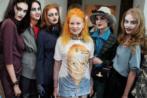 Vivienne Westwood cá tính từ vẻ ngoài tới các thiết kế