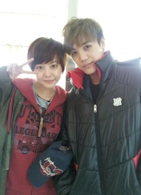 Chị em nữ diễn viên Go Eun Ah và Mir (MBLAQ)