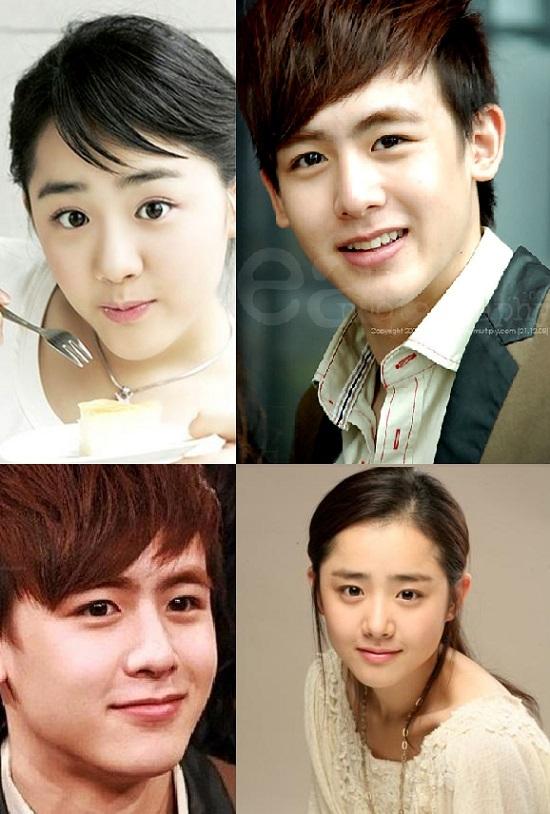 """Vẻ đẹp không tuổi của """"em gái quốc dân"""" Moon Geun Young luôn được so sánh với """"Hoàng tử Thái"""" Nich Khun. Cả hai đều có khuôn mặt """"baby"""" rất đáng yêu."""