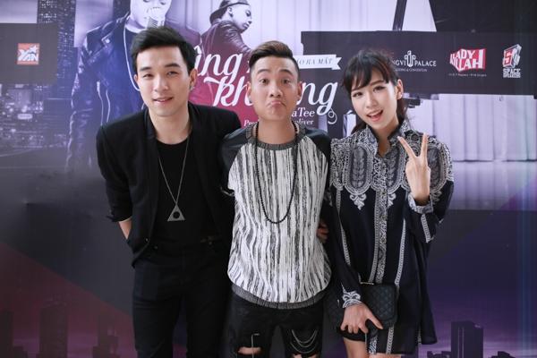 """Bê Trần, Quỳnh Anh Shyn cùng dàn Sao trẻ đến """"chia vui"""" cùng Justa Tee"""