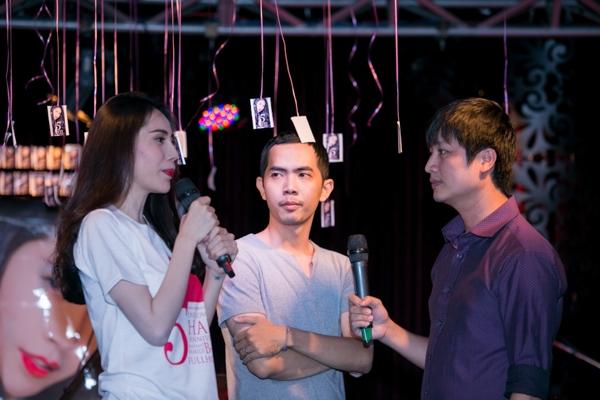 MC Quốc Quân và nhạc sĩ Đằng Phương