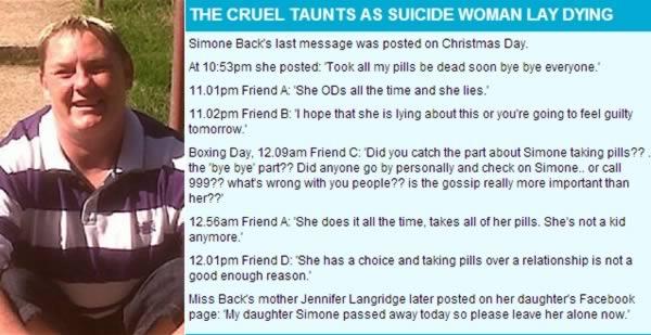 Gây sốc với những trường hợp tự tử trực tiếp qua mạng