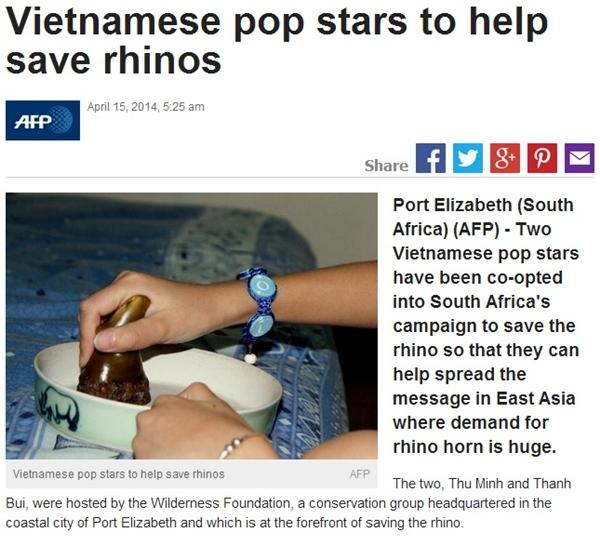 Thu Minh và Thanh Bùi liên tục xuất hiện trên các trang báo nước ngoài - Tin sao Viet - Tin tuc sao Viet - Scandal sao Viet - Tin tuc cua Sao - Tin cua Sao