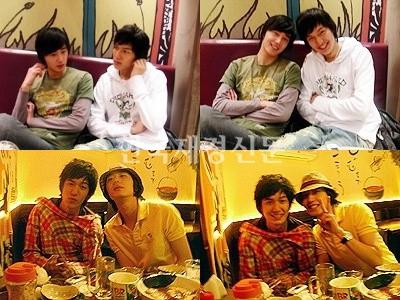 Jung Il Woo và Lee Min Ho