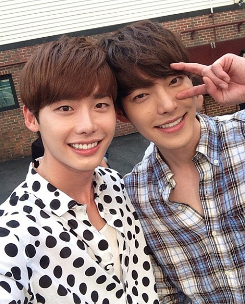 Những tình bạn đẹp của các diễn viên xứ Hàn