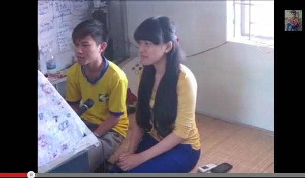 Cô gái hát Nước mắt mẹ Việt Nam khiến cư dân mạng xúc động