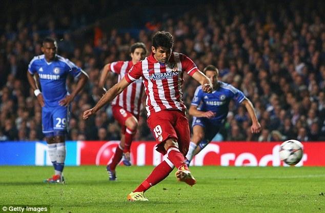 Chelsea 1-3 Atletico: Mourinho thua đau tại sân nhà