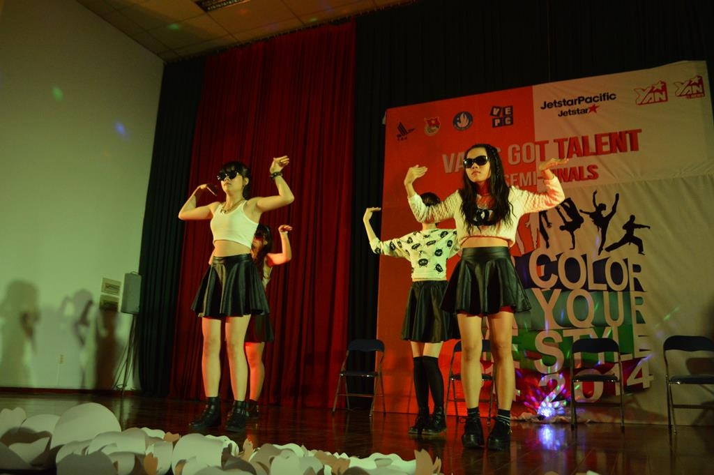 Điểm danh Top 5 cuộc thi VAA's Got Talent - Color Your Style 2014