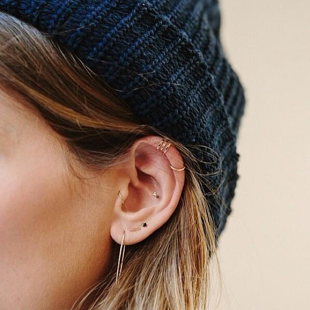 28 kiểu xỏ lỗ tai cho bạn gái cực cá tính đón hè
