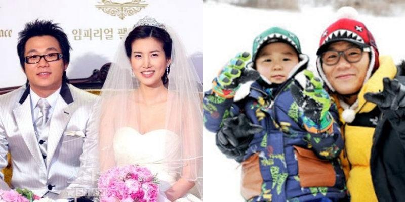 Ca sỹ Yoon Min Soo và con trai Yoon Hoo. Hai cha con từng xuất hiện trong chương trình Daddy, Where are we going?
