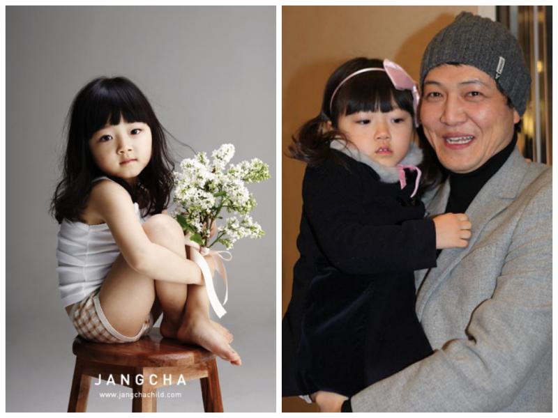 Nam diễn viên Jung Woong In và con gái Jung Se Yoon