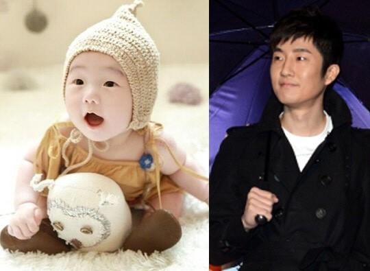 Thành viên Tukutz của Epik High và con trai Yoon Woo.