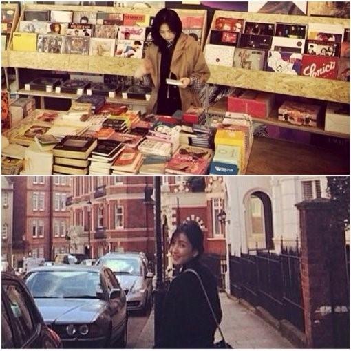 Cựu thành viên Kara - Jiyoung cập nhật hình ảnh mới nhất của cô tại London