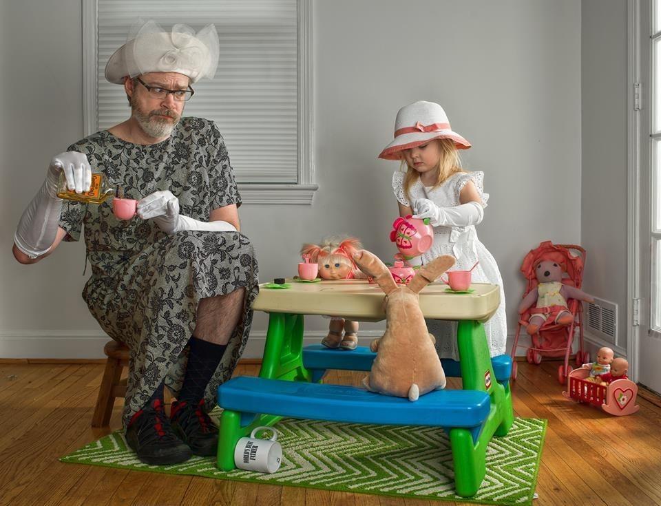 Cười sảng khoái với bộ ảnh Lời thú nhận của Người-cha-tốt-nhất-thế-giới cực dễ thương
