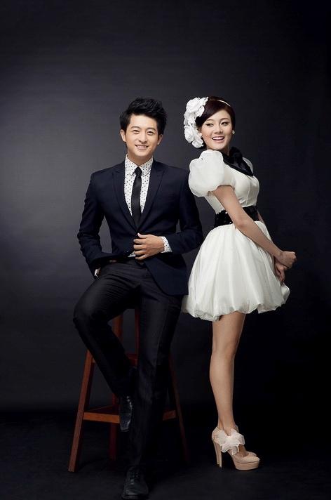 """Harry Lu khoe """"ảnh cưới"""" với á khôi Tăng Huỳnh Như"""