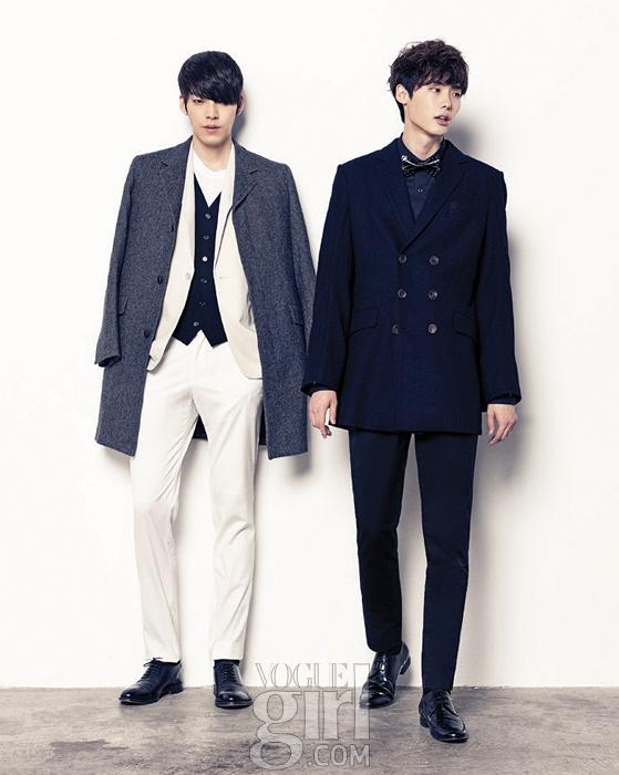 Lee Jong Suk và Kim Woo Bin