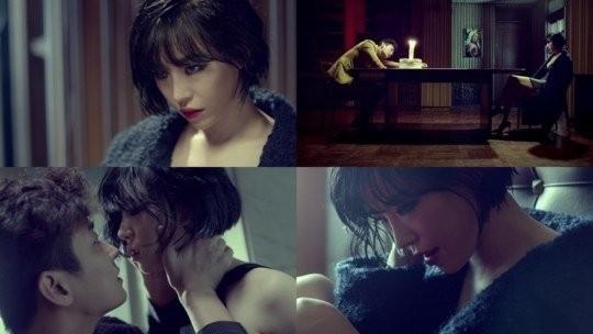 Gain và Joo Ji Hoon cực tình cảm trong MV Fxxk U