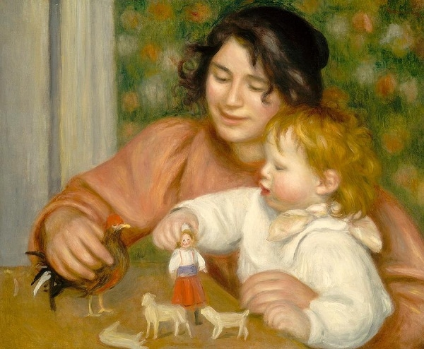Những tác phẩm nghệ thuật kinh điển của thế giới về người mẹ