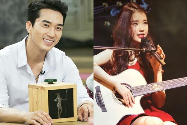 Khi Song Seung Hun xuất hiện trong chương trình Witch Hunt anh đã chia sẻ rằng mình rất thích nghe nhạc của IU. Bên cạnh đó, anh cho biết mình thuộc cả những bài hát của IU.