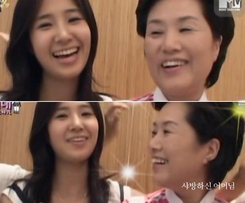 Mẹ Yuri đã từng lên truyền hình để ủng hộ con gái mình