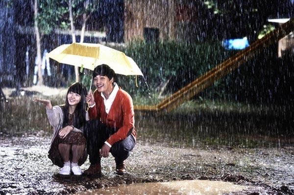 Những cảnh mưa ấn tượng trên màn ảnh Hàn
