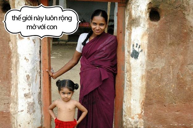 Cảm động chùm ảnh những lời dạy của mẹ với con gái