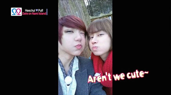 Guo Xue Fu (Puff), Kim Hee Chul trong We Got Married - Global Edition Season 2
