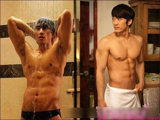 Song Seung Hun luôn biết cách 'đốn tim' fan bằng những cảnh quay khoe bụng 6 múi.