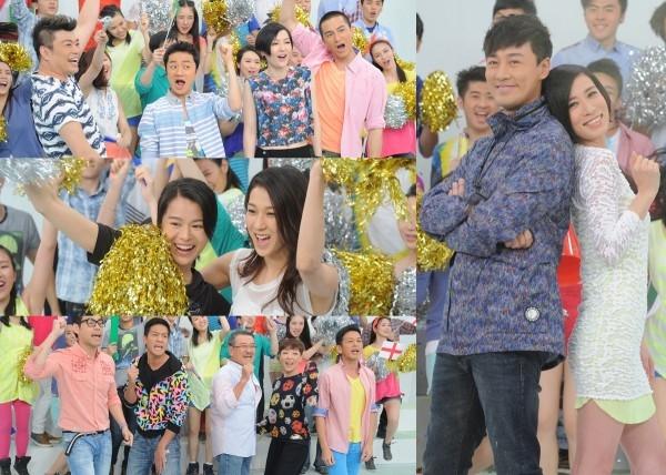 Dàn sao TVB nhí nhảnh trong MV cổ vũ World Cup 2014