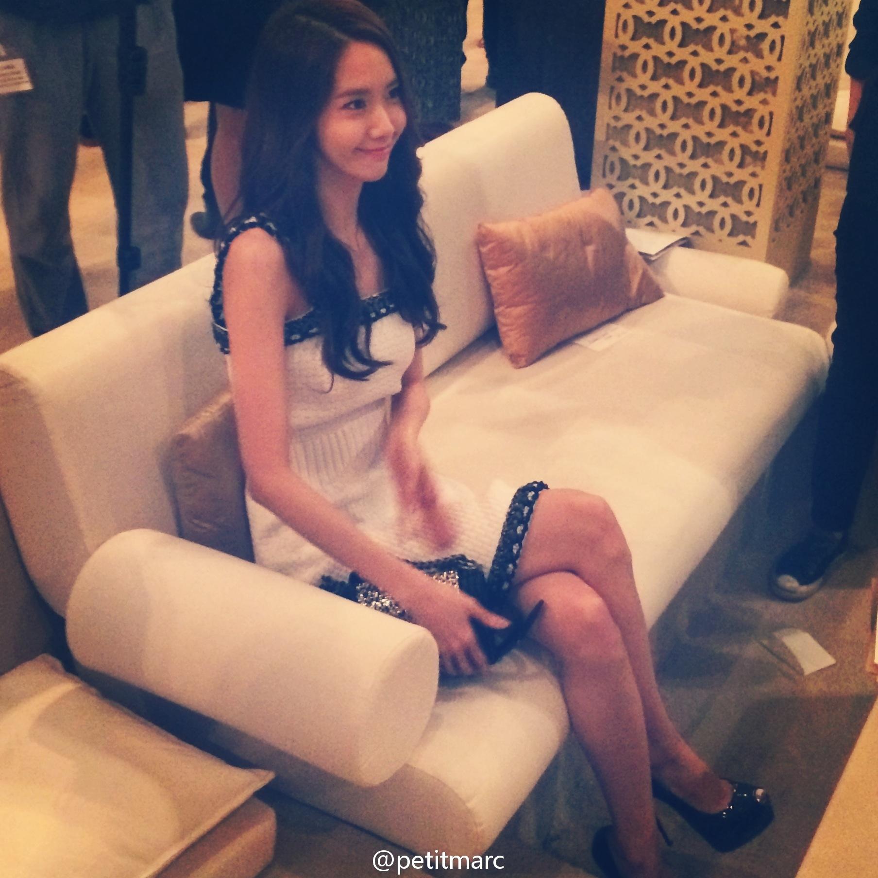 Yoona cực xinh tham dự sự kiện thời trang tại Dubai