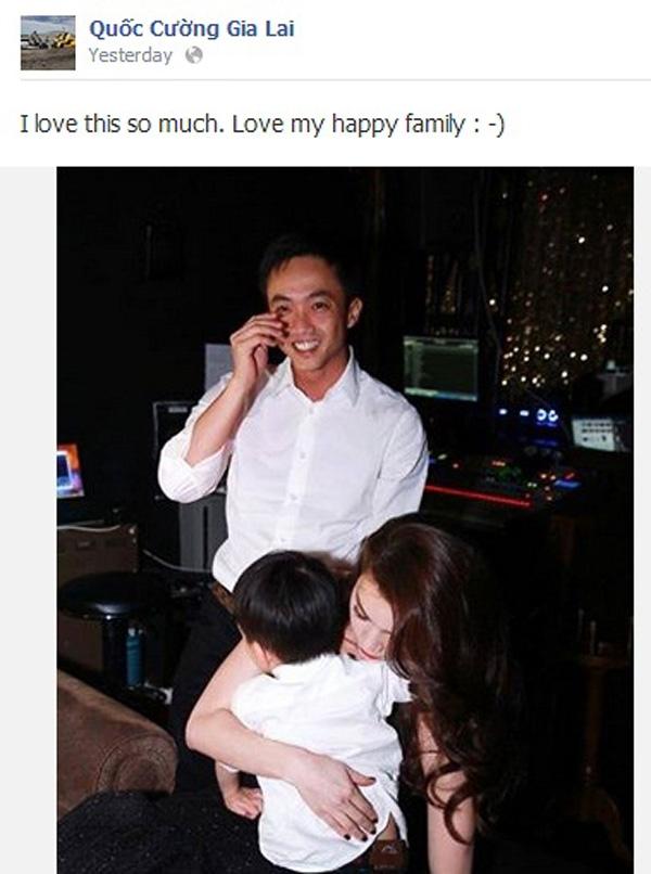 Quốc Cường chia sẻ niềm hạnh phúc khi chứng kiến cảnh đáng yêu của 2 mẹ con Hà Hồ trong buổi ra mắt album.