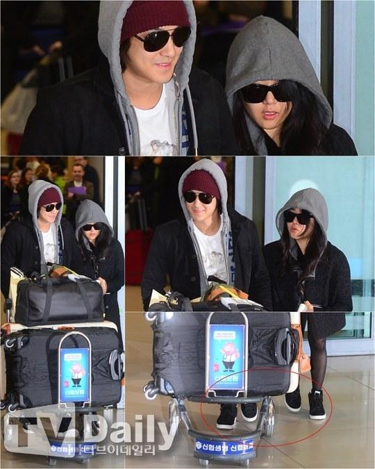Kim Bum và Moon Geun Young từng thể hiện tình cảm trước giới truyền thông sau kỳ nghỉ lãng mạn của họ.