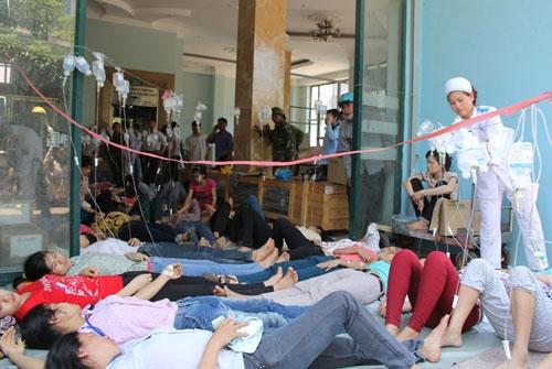 Hàng trăm công nhân bị ngộ độc ở Thanh Hóa