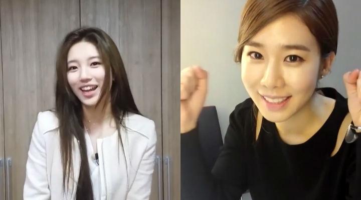 Suzy ủng hộ Jiyeon chuẩn bị ra album mới