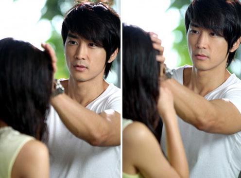 Song Seung Hun và Shin Se Kyung trong phim When A Man Loves