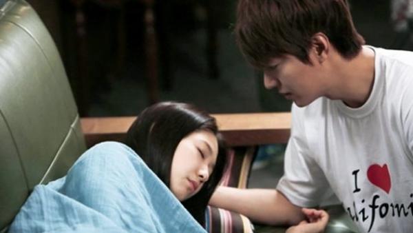 Lee Min Ho và Park Shin Hye trong phim The Heirs