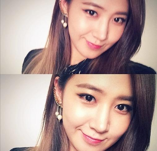 Yuri chào ngày chủ nhật hình tự sướng cực xinh đẹp