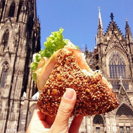 Bánh mì kẹp ở Cologne, Đức