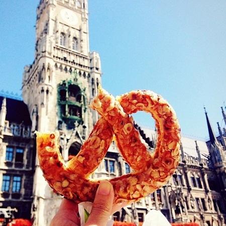 Bánh quy xoắn, Munich, Đức