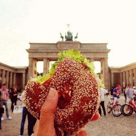 Bánh mì kẹp ở Berlin, Đức