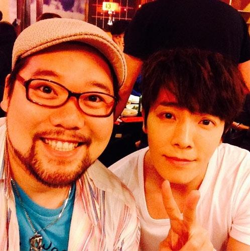 Donghae khoe hình đang đóng bộ phim mới