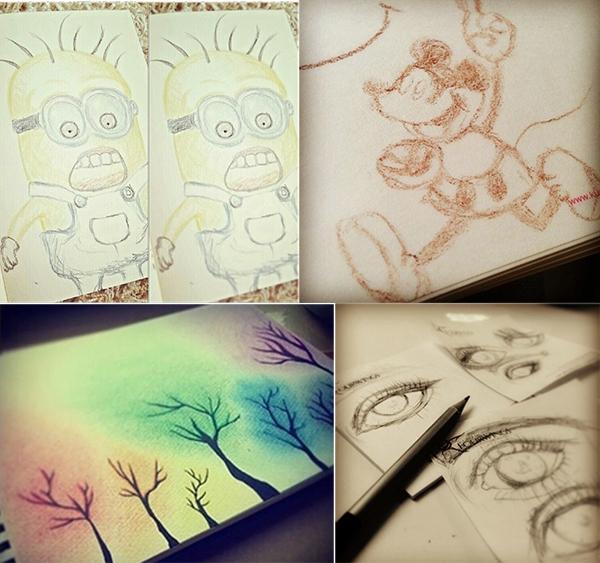 Những bức tranh củaTaeyeon SNSD