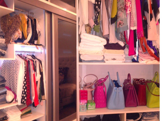 Hô biến tủ quần áo bừa bãi thành một góc ngăn nắp, sạch sẽ là một vấn đề không hề đơn giãn đối với các nàng mê shopping.