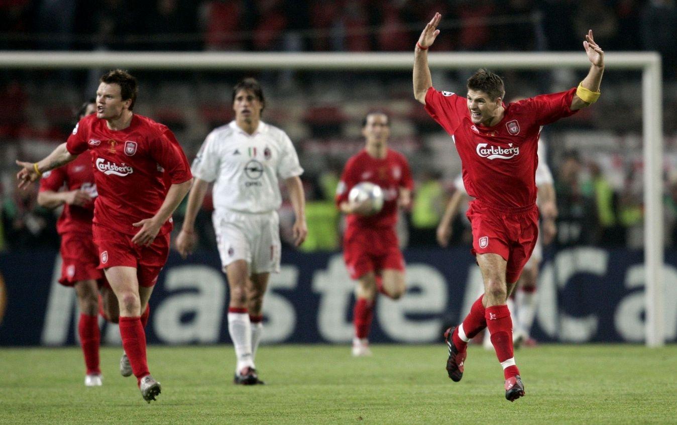 Liverpool đã có một đêm thần kỳ tại Istanbul 2005.