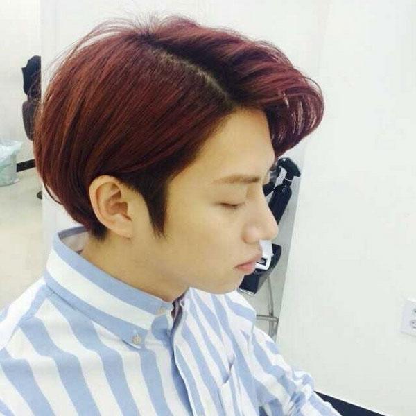 Heechul cũng khoe ảnh tóc mới