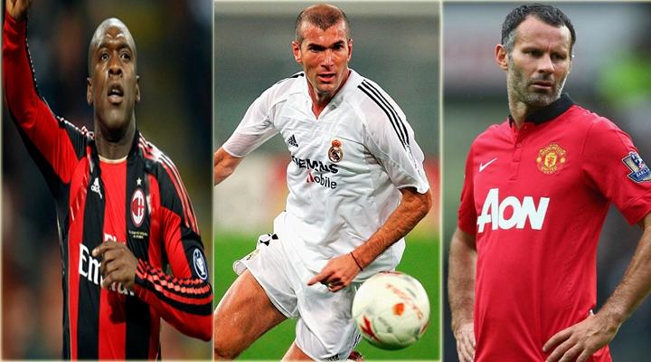 Seedorf - Zidane - Giggs có mặt trong đội hình xuất sắc nhất kỷ nguyên Champions League