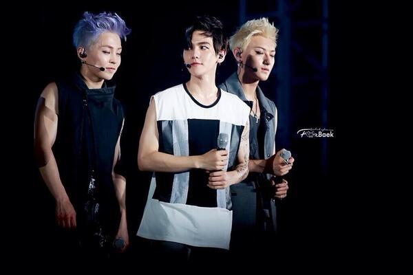 Xiumin, Tao và Baekhyun